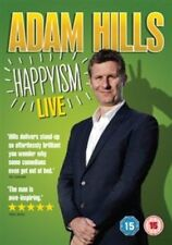 ADAM HILLS HAPPYISM LIVE STAND UP COMEDY NEW/SEALED