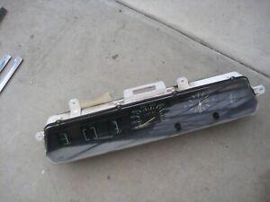 Chrysler Mitsubishi Sigma GE GH Instrument Cluster Refer Description