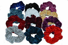 New HAIR SCRUNCHY BOBBLE PACK OF 12 VERY GOOD Quality