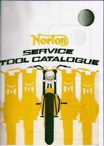 Norton Service Tool Catalogue, Plastic Binder COPY, 06-4621