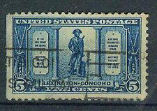 Briefmarken USA 1925 Schlacht von Lexington-Concord Mi.Nr.295