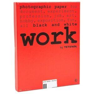 Work BY Tetenal B/W (PE/RC) 3 Normal 312 Semi-Matte Photo Paper 100 sheets 10x15