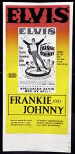 ELVIS PRESLEY ORIGINAL FILMPLAKAT FRANKIE UND JOHNNY 1966 Frankie and Johnny