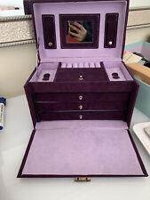 New Purple Jewellery Box Holder