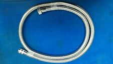 Aqualisa Chrome Thermostatic shower Hose - 1.5m - Metal - 164516