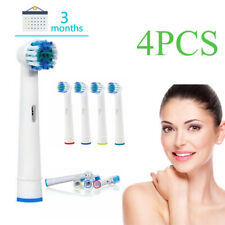 4Pcs Standard Toothbrush Heads Electric For Oral B Braun Models Replacement
