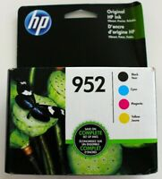 Brand New HP 952 Black/Color Genuine Ink Combo Pack - Expires 05/2021