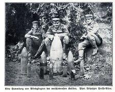 Fantaccino! prima di una raccolta di blindgängern storica ingestione di 1915