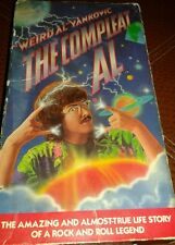 Weird Al Yankovic The Compleat Al 1985 Very Rare VHS TAPE 80's Comedy Music MTV