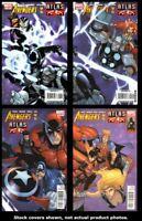 Avengers vs. Atlas 1 2 3 4 Marvel 2010 Complete Set Run Lot 1-4 VF/NM