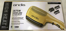 Andis Ceramic Ionic Styler Dryer + Styling Attachments - Gold - New