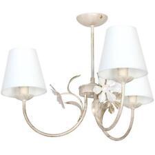 PLAFONNIER SUSPENSION LAMPE SALON STYLE ART NOUVEAU Maison de campagne Blanc