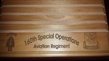 Military Challenge Coin Holder 9x12, 160th Special Operations Aviation Regiment