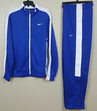 NIKE DRI-FIT BASKETBALL WARM UP SUIT JACKET + PANTS ROYAL BLUE NWT (SIZE MEDIUM)