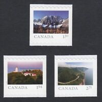 2020 = FAR AND WIDE = SET OF 3 HV BOOKLET STAMPS MNH Canada