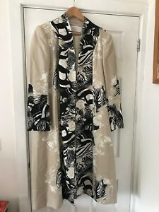Lightweight long length summer coat- Size 24-fully lined. Tailor made.