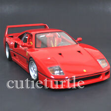 Bburago Original Series Ferrari F40 F-40 1:18 Diecast Model Car 18-16601 Red