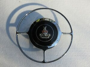 Rover P4 80, 90, 95, 100, 105, 110 Chrome Horn Ring With Badge