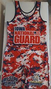 Iowa National Guard Xxl Wrestling Singlet Adult