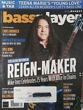 Bass Player October, 2018 Mike Inez with Alice in Chains FREE SHIPPING