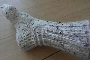 Hand knitted socks UK size 6-7(lot 9)