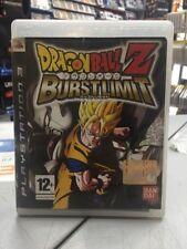 Dragon Ball Z Burst Limit Ita PS3 USATO GARANTITO