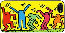 """Cover per iPhone 5 e 5S con stampa """"The Dancers"""" Keith Haring"""