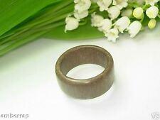 legno naturale anello fatto a mano HR201