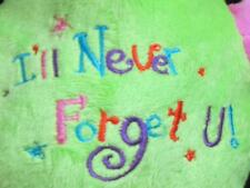 I'LL I WILL NEVER FORGET YOU NATIONAL ENTERTAINMENT NETWORK GREEN PINK ELEPHANT