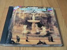 Carlos Bonell - Rodrigo : Concierto de Aranjuez - Dutoit - CD Decca West Germany