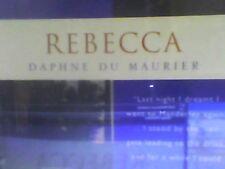 Rebecca  by Daphne Du Maurier  Audio cassette  read by Emilia Fox