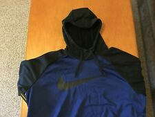 NWT MENS 2XL NIKE DRI-FIT THERMA PULLOVER HOODIE.