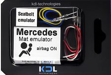 for Mercedes W202 W168 W170 W638 passenger seat occupancy sensor bypass