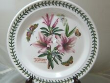 Portmeirion Botanic Garden Azalea Round Dinner Plate MINT 2 Available 10.5""