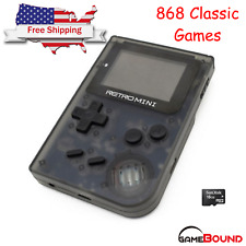 "Retro Mini GBA 2"" Handheld Game 908 built-in Gameboy Advance Games USA Shipping"