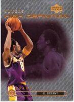 1999-00 Upper Deck High Definition #HD8 Kobe Bryant / Lakers / HOF / NM-MT