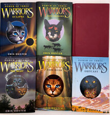 Erin Hunter Warrior Cats: Power of Three Full Set First Edition Hardcover.