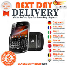 NEW BLACKBERRY BOLD 9900 TOUCH BLACK BOXED SEALED MOBILE PHONE UNLOCKED SIM FREE