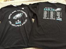 Philadelphia Eagles Boys Super Bowl Champions Black T-Shirt Size MEDIUM (Size10)