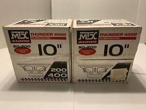 *NEW* Pair MTX Audio Thunder 4000 Subwoofer Speakers