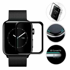 Curved Screen Protector For Apple Watch 3D Glass Scratchproof Anti-Fingerprint