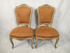 Antique Pair of French Louis Xv style Chairs # 11277