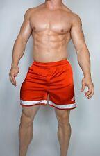 RED adidas Satin Soccer Shorts MEDIUM (COLLECTOR'S ITEM)