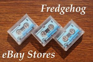 3 x AUDIO MICRO CASSETTES / TAPES FOR DICTAPHONES & ANSWER PHONES / ANSAPHONES