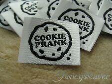 600pcs Custom Woven Clothing Labels for Tee,Pants, Uniform, Shirt, Dress, Polo