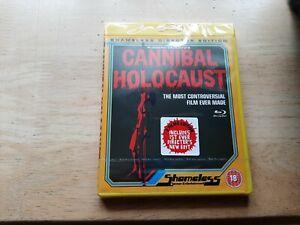 CANNIBAL HOLOCAUST BLU-RAY DIRECTORS NEW EDIT UK EDITION REGION FREE BRAND NEW