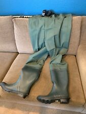Compass 360 Oxbow Bootfoot Chest Wader Size 10 Cleated Sole