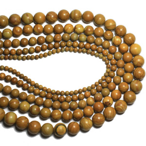 Natural Gemstone Wood Vein Jasper Beads Loose Beads 40PCS 4MM