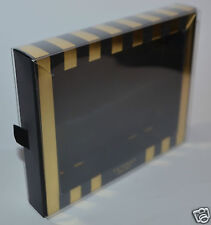 Victoria'S Secret Empty Black Gold Clear Gift Box Set Wrap Organizer Pull Out