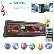 STEREO AUTO BLUETOOTH AUTORADIO VIVAVOCE RADIO FM MP3 USB AUX SD CARD